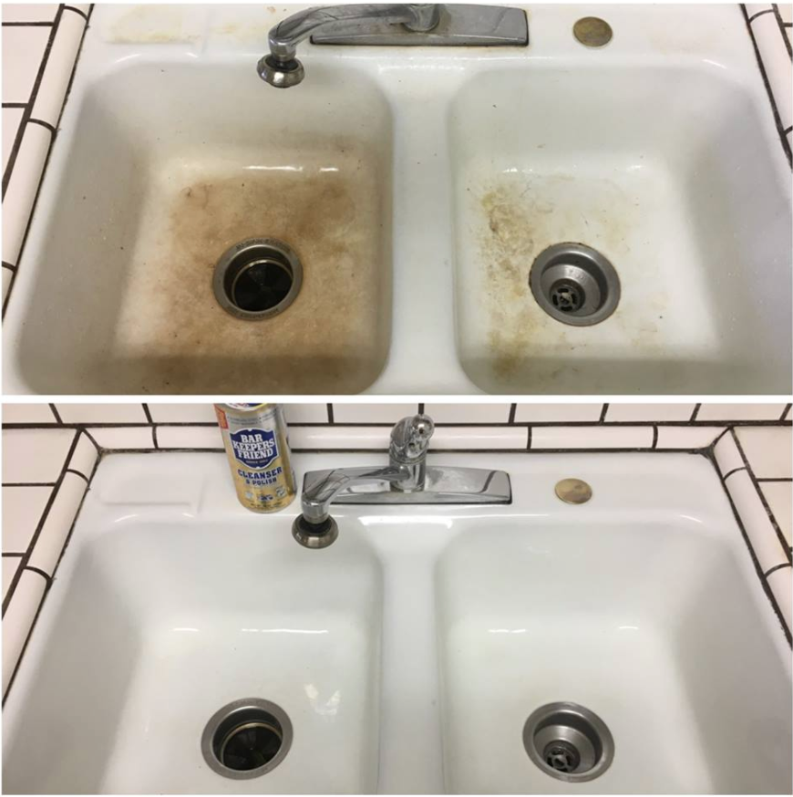 Kitchen Cleaning: Before & After