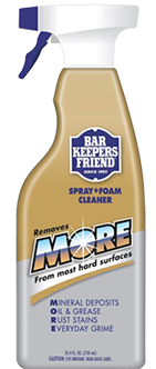 Bar Keepers Friend Spray & Foam Cleaner