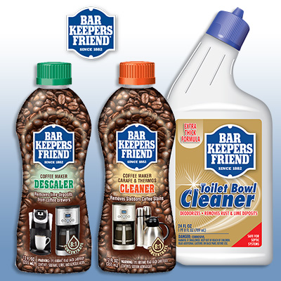 Bar Keepers Friend Something New cleaning products