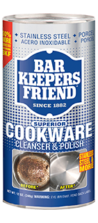 2018 Bar Keepers Friend Cookware