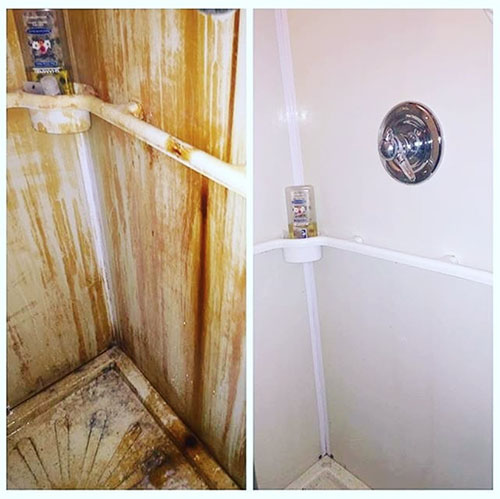 In The Bathroom How To Use Bar Keepers Friend