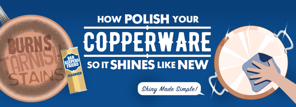 How to Clean Copper with Bar Keepers Friend banner