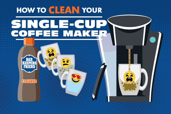 How to clean a single-cup coffee maker