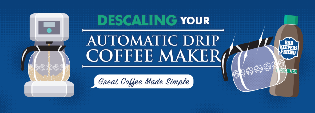 How to Descale an Auto Drip Coffee Machine