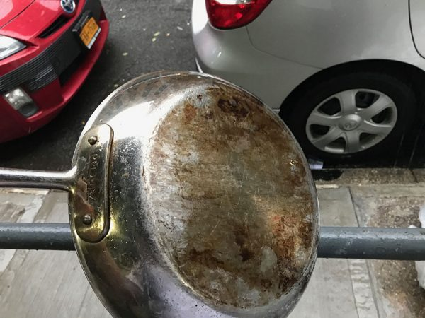 Burnt All-Clad