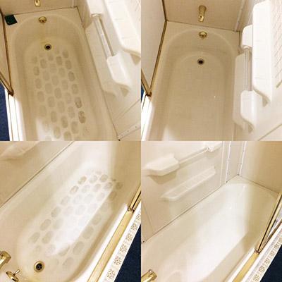 Bar Keepers Friend cleans bathtubs