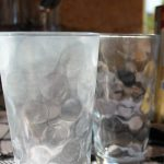 How to remove hard water deposits from glassware