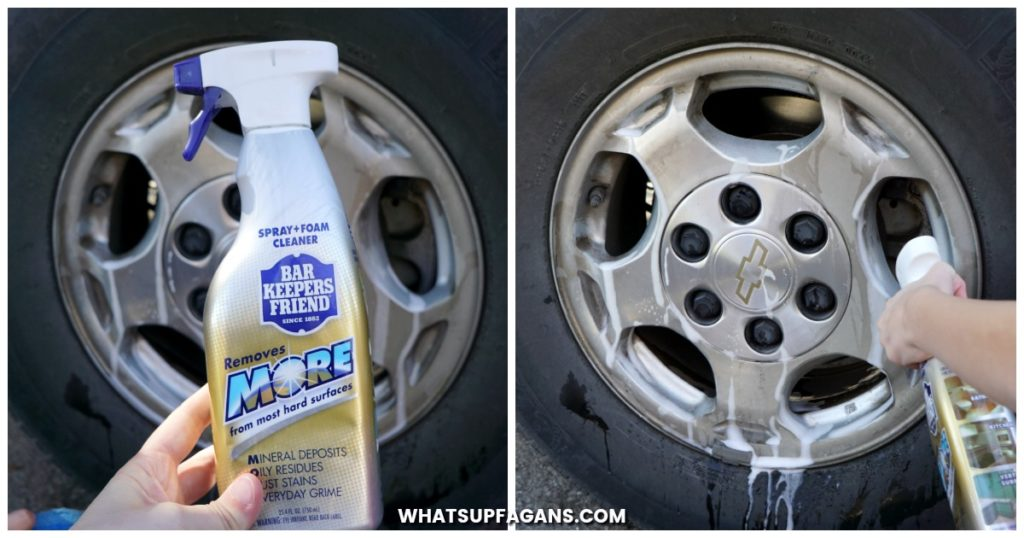 cleaning-car-wheels - whats up fagans - image 1