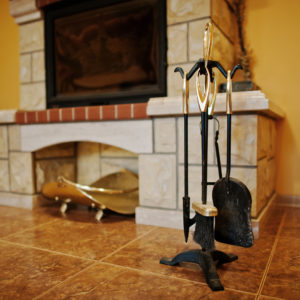 how to clean a fireplace - image 1