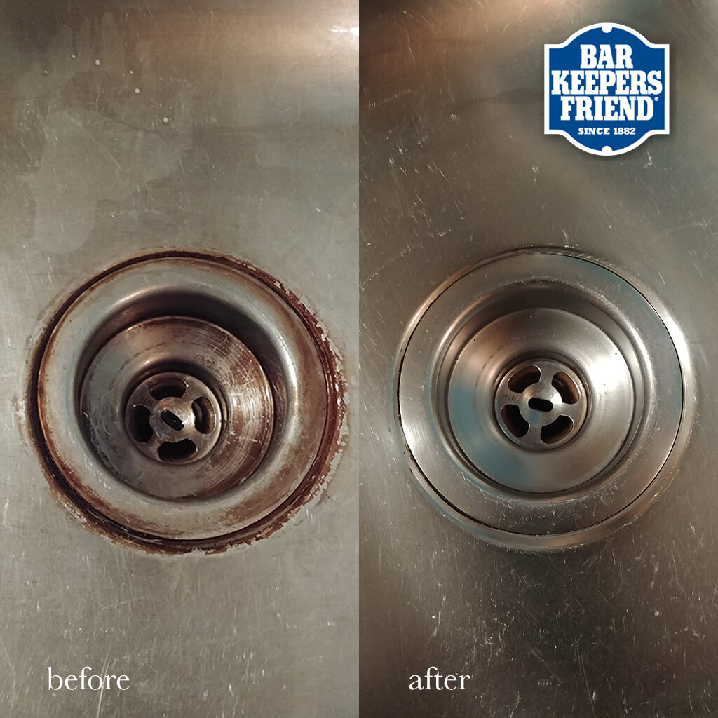 how to remove rust from stainless steel sinks - how to clean rust off metal - before and after - 2018