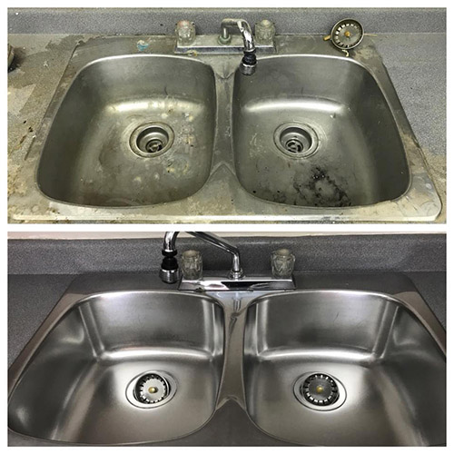 Remove Rust From Stainless Steel Sinks
