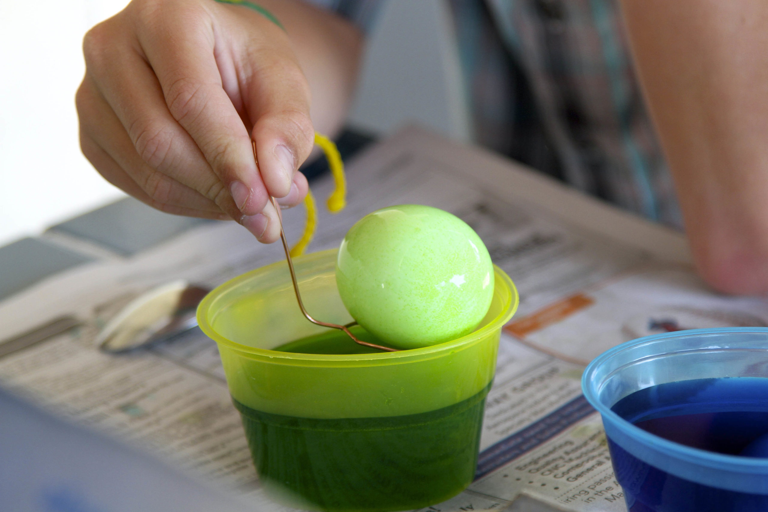 easter cleaning tips - egg dying - image 1