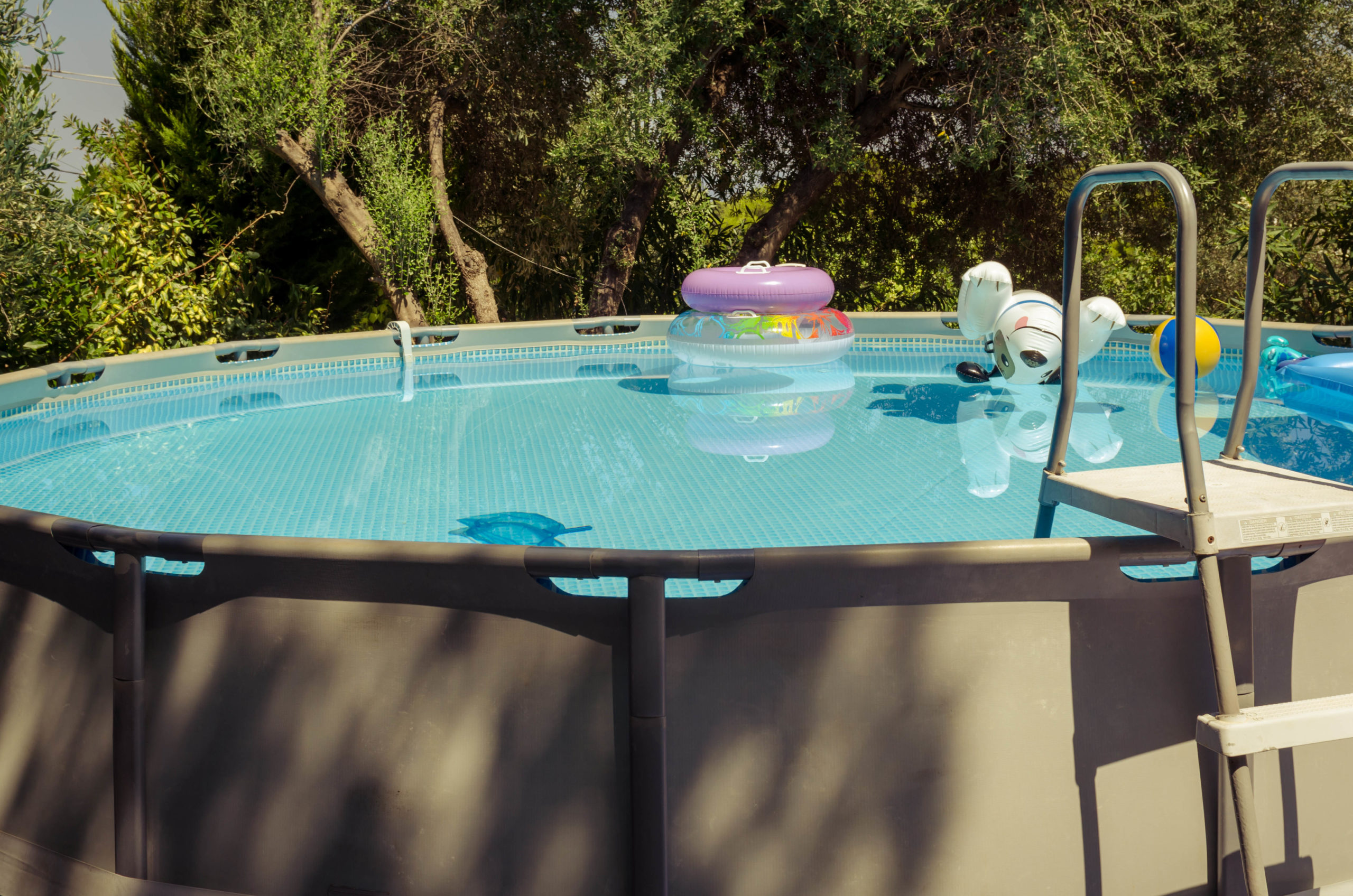 summer cleaning tips - image 1 - spruce up pool steps and siding