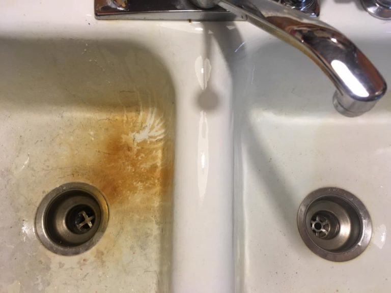 how to clean kitchen sinks - image 1 - katy l submission