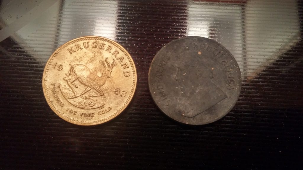 cleaning with bar keepers friend - coins - image 5