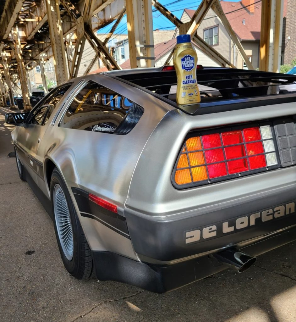 cleaning with bar keepers friend - delorean - image 4