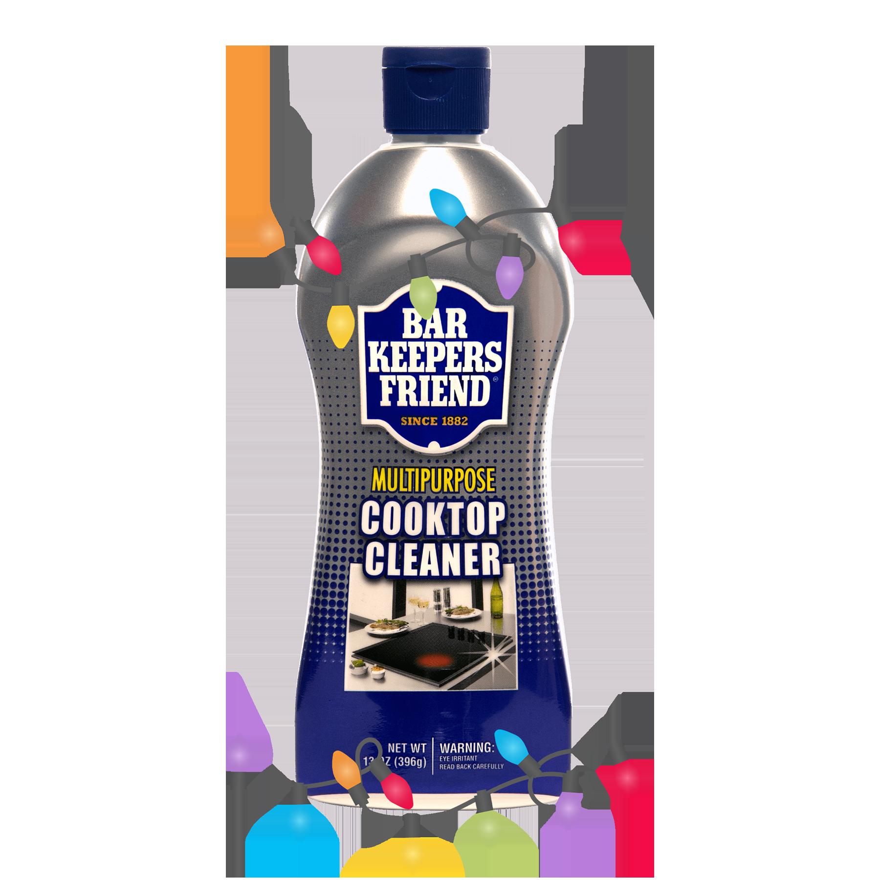 Cooktop Cleaner - Seasons Greetings - 600x600