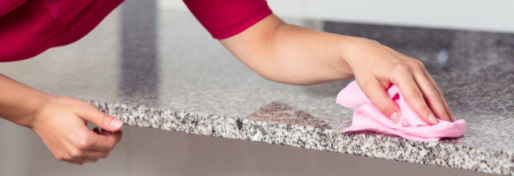 how to clean granite countertops - blog - featured image