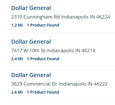 where to buy bar keepers friend - dollar general listings